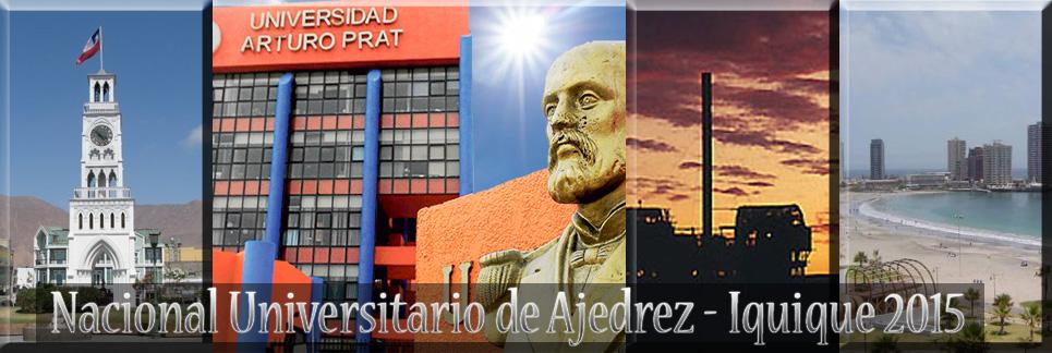 Nacional Universitario de Ajedrez - Iquique 2015
